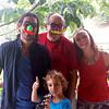 Me with David & Corinna of Su Espacio & their son Nicole, 76th Birthday