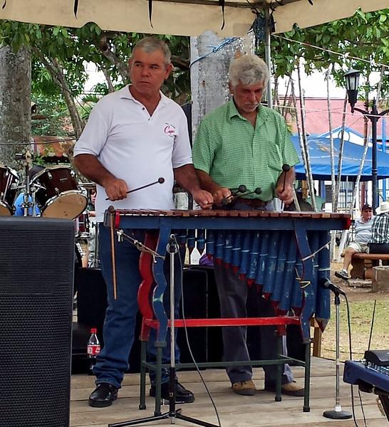 Marimba at Central Park Fiesta