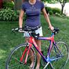 Heidi Sieberlich, a swim coach for the Hatboro YMCA, is training for the Iron Man Triathalon.<br /> Bob Raines 6/7/10