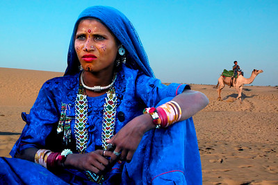 GYPSY GIRL - RAJASTHAN