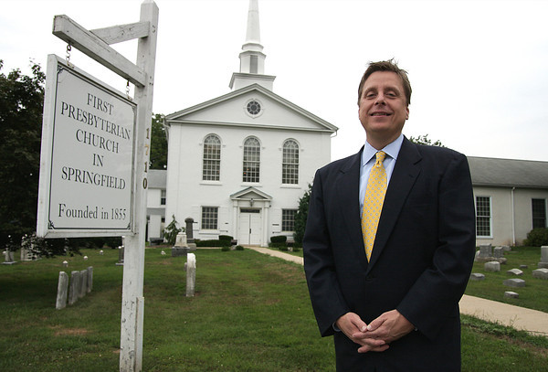 James Poinsett new pastor at Springfield Presbyterian