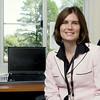 Swanson_2985.jpg _ Springfield Middle School technology teacher Kristen Swanson. Bob Raines 10.04.11
