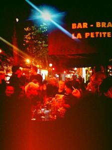 """After """"Too Much Pussy : Feminist Sluts in the Queer X Show"""", projection au Café de la Petite Porte (06/2010)"""