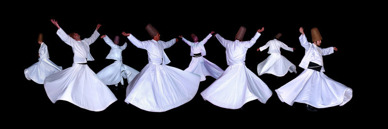 WHIRLING DERVISHES - ISTANBUL, TURKEY