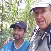 Me with Moises, My Birding Guide at