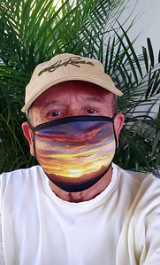 My Photo on Pandemic Mask
