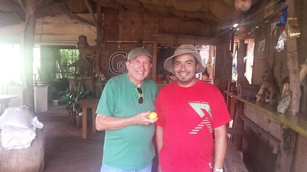 Me and Gabriel Calderón