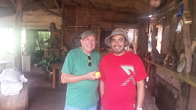 Charlie Doggett with Gabriel Calderón  --  2016