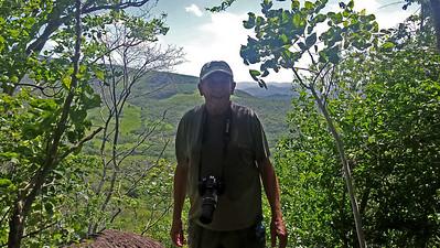 Charlie Doggett at a Mirador (Vista)