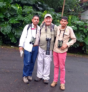 Johnny, Me, and Javier on Big Birding AM