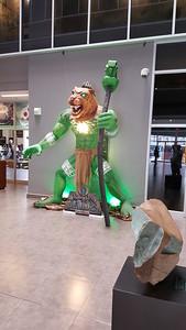 Jade-Jaguar Monster at Jade Museum