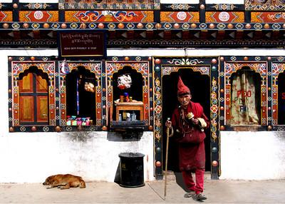 MONK - THIMPU, BHUTAN