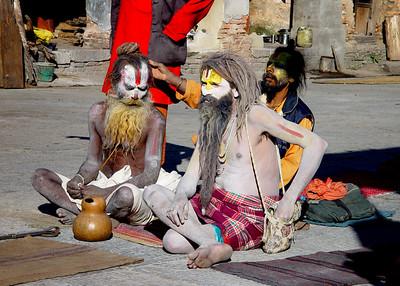 SADHUS - KATHMANDU, NEPAL
