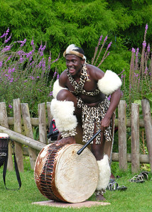 ZULU DANCER - SOUTH AFRICA