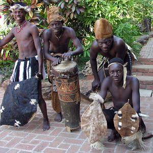 SHONA DANCERS - VICTORIA FALLS, ZIMBABWE
