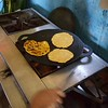 Cecelia's family members made these scrumptious corn tortillas  which we ate with coffee grown on their farm. Delicioso!