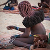 Young Himba Girl with Beads