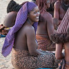 Himba Woman 8, Purple Head Cloth