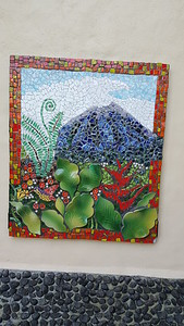 This is a Real Tile Mosaic - Beautiful!