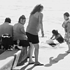Park Bathers (Soft Focus)  -- Kirkland, Washington (July 2010)