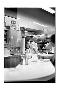 Bill the Counter Man at Chester's Hamburger King