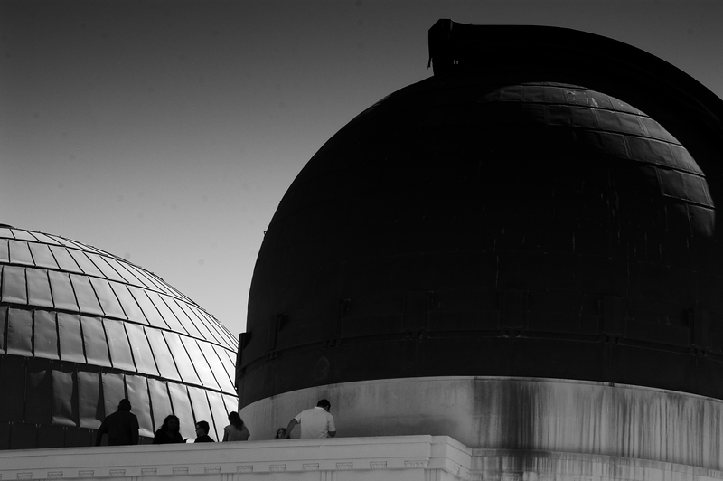 Double Dome -- Griffith Observatory, Los Angeles (October 2015)