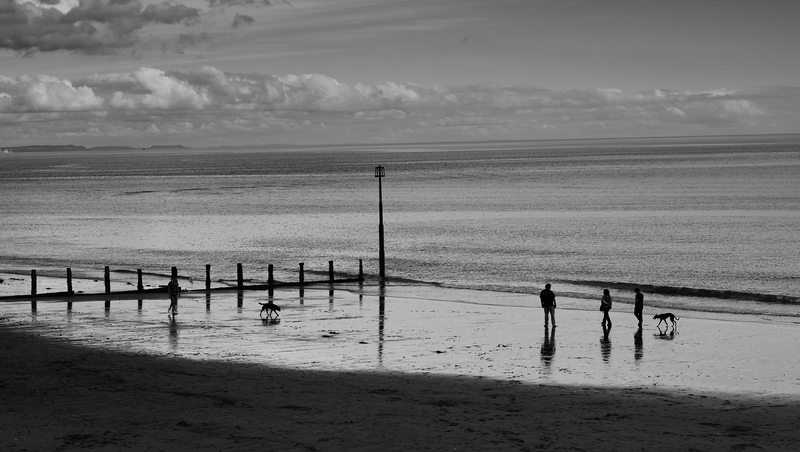 Beach (1) -- Teignmouth, England (October 2013)