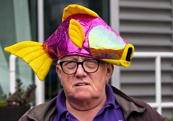 FISH HAT HEAD