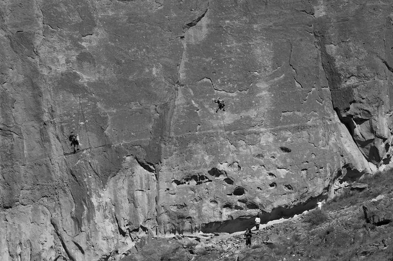 Rock Scalers -- Smith Rock State Park, Oregon (September 2015)