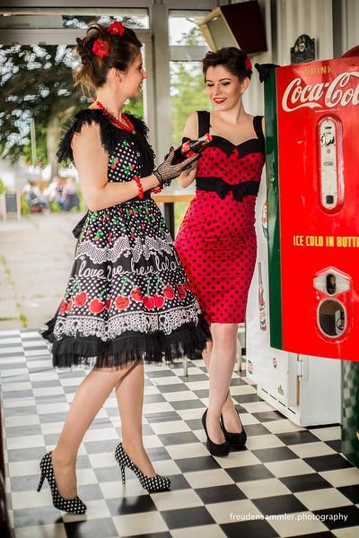 Classic Days Schloß Dyck 2017 - Models: Tatjana Schneider + Mandy Busch