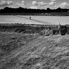 Man in Field -- Orford, England (September 2012)