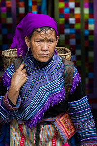 Hmong Woman in Sapa Vietnam