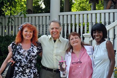 Lizajean Holt, Bill Owen, Kay Newton, and Cynthia Nevels