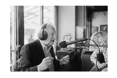 Studs Terkel on The Live from the Heartland Show