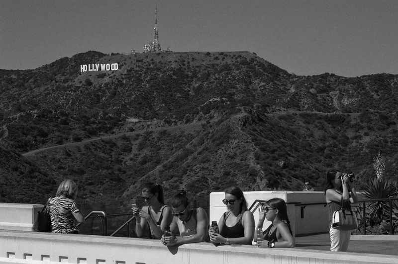 """Hollywood"" -- Griffith Observatory, Los Angeles (October 2015)"