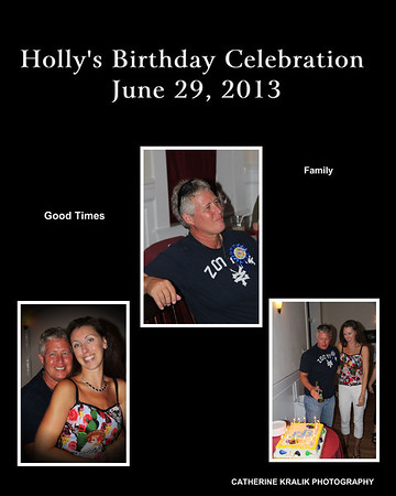 HOLLY'S BIRTHDAY CELEBRATION JUNE 2013