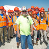 Memorial Engineering Club IPL PETE Jobsite Visit 4-15-16 - 33