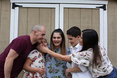 Miller Family April 2018