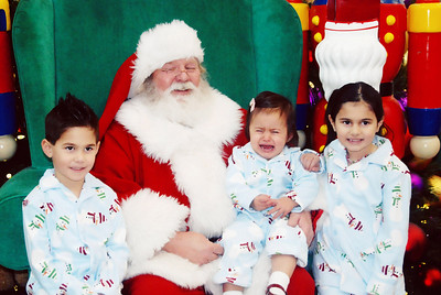 Santa visit 2009