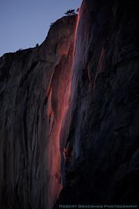 February 12, 2011 Horsetail Falls Yosemite National Park