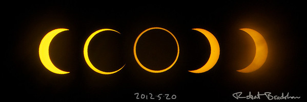May 20, 2012 Annular eclipse as seen from Redding, CA