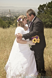 May 8, 2012 Josh & Leighann's wedding day LDS Temple, Oakland, CA