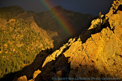 Rainbow in Big Cottonwood Canyon