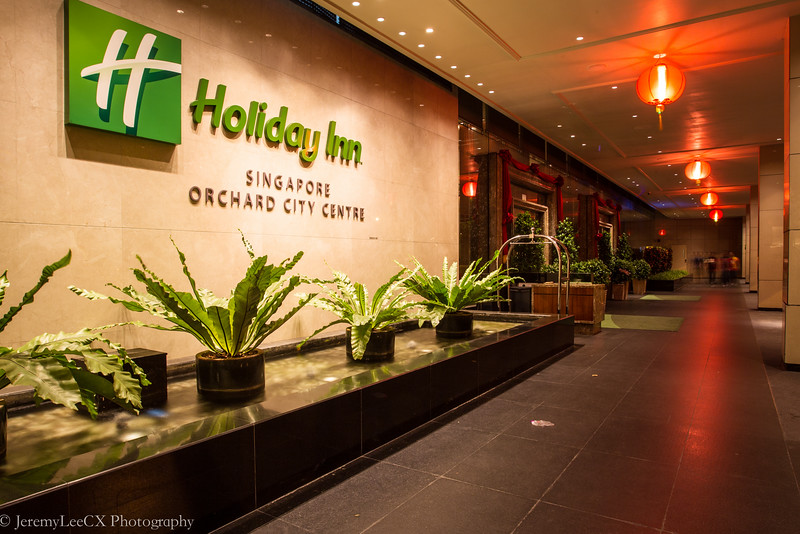 Holiday Inn Singapore Orchard City Centre - Hotel Entrance