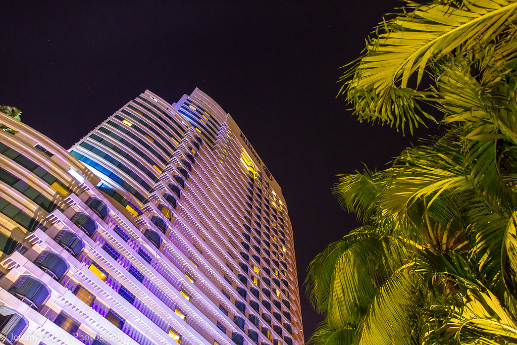 Hilton Kuala Lumpur - Property Exterior - Night Shot