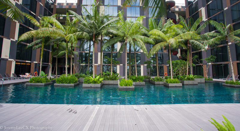 Crowne Plaza Changi Airport - Swimming Pool