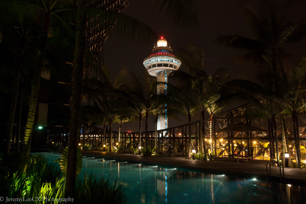 Crowne Plaza Changi Airport - View From Swimming Pool