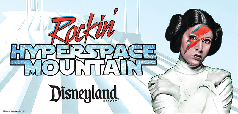 ROCKIN' HYPERSPACE MOUNTAIN to join Summer of Star Wars offerings at Disneyland