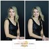 Christina Howell Black Dress collage 16 X 8