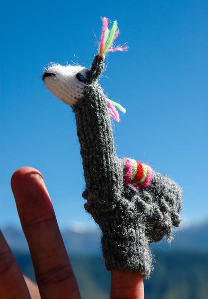 """""""Como se Llama""""<br /> Traveling Finger Puppet"""